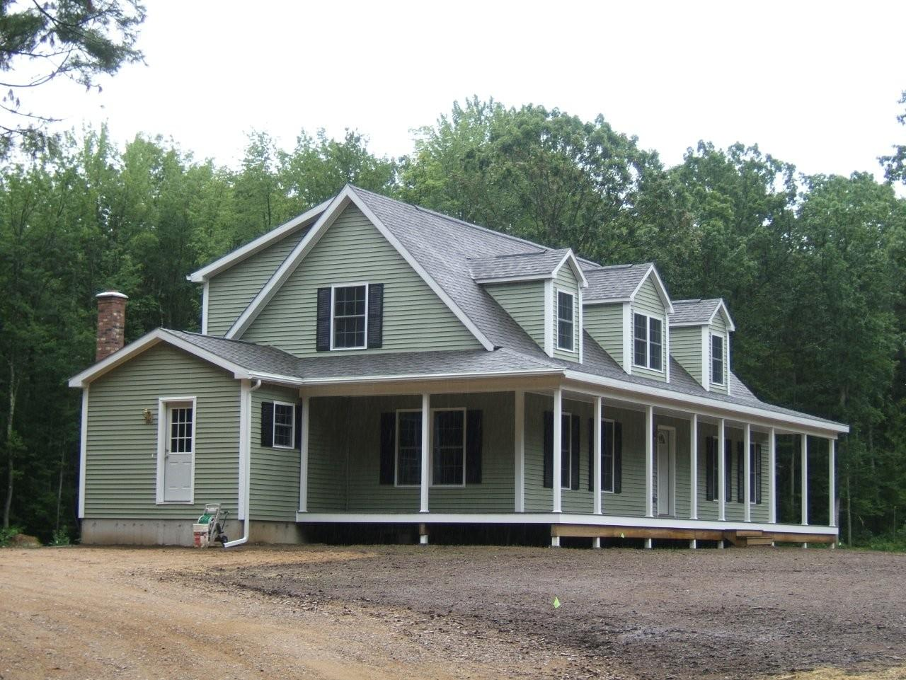 Energy efficient 2-story modular home