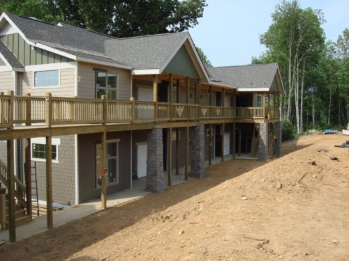 2 story modular container home