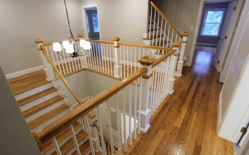 modular home hallway