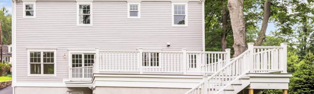 Modular Home Deck